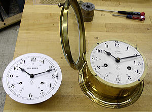 Schatz Royal Mariner Ships Bell clock